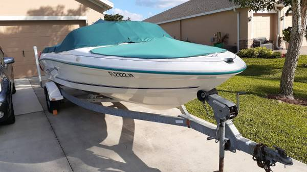 Photo 1998 18ft SeaRay Sport 175 five series - $6,500 (Cape Coral)