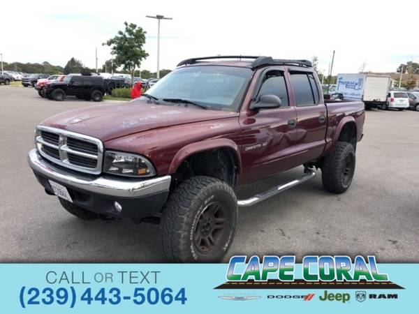Photo 2002 Dodge Dakota SLT - $6987 (_Dodge_ _Dakota_ _Truck_)