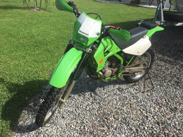 Photo 2002 Kawasaki KDX 220 - $2,400 (Fort Myers)