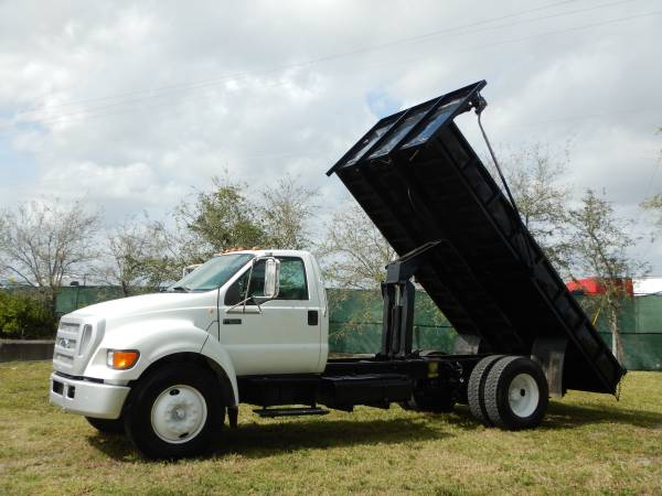 Photo 2004 Ford F-650 Dump Truck Automatic 81K Miles Super Duty F650 FL City - $16995