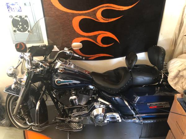 Photo 2004 Harley Road King for sale - $7,700 (Cape Coral)