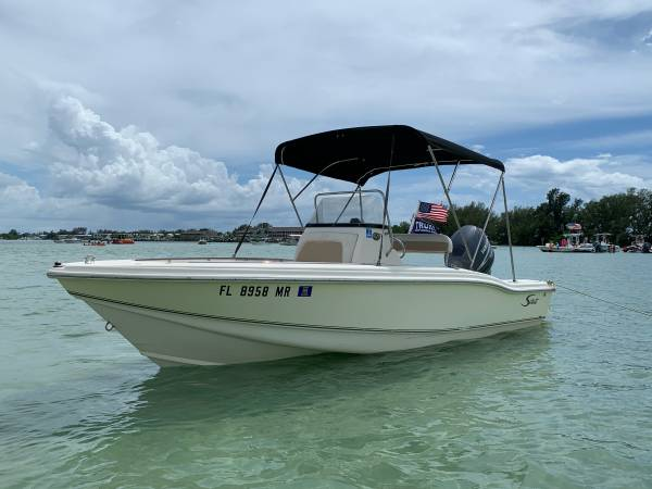 Photo 2005 185 SCOUT CENTER CONSOLE WYAMAHA 4 - STROKE - $18,500 (HARBOR HEIGHTS)