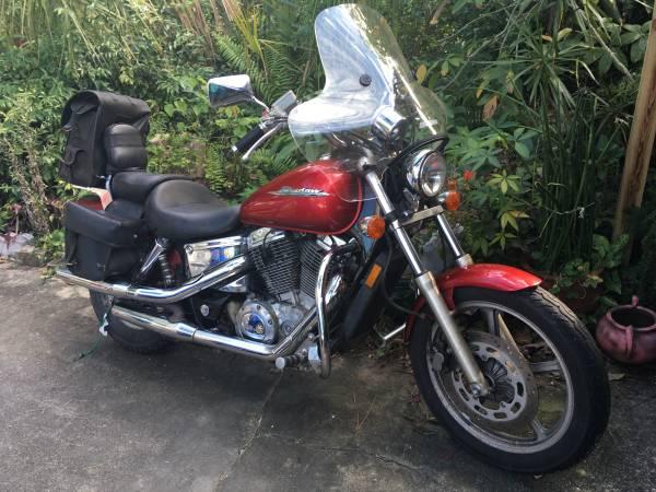 Photo 2005 Honda Shadow Spirit 1100 - $3,000 (Fort Myers)
