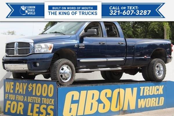 Photo 2007 Dodge Ram 3500 Laramie - $22,995 (_Dodge_ _Ram 3500_ _Truck_)