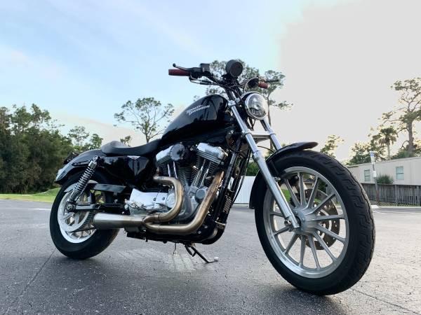 Photo 2008 Harley Davidson sportster 883  2000 miles  - $5,700 (San Carlos park)