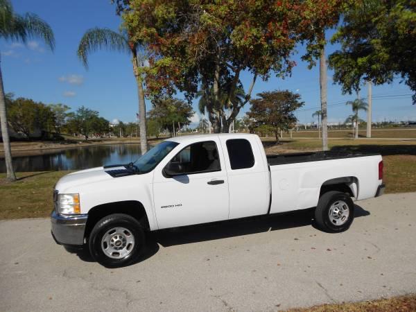 Photo 2011 FLORIDA CHEVROLET SILVERADO EXT CAB 2500 HD 6.0 VORTEC - $5750 (FT MYERS FL)