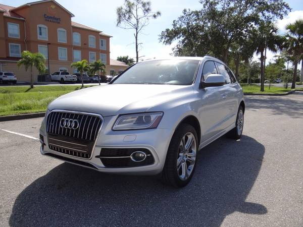 Photo 2013 AUDI Q5 3.0T S-LINE PREMIUM LIKE NEW NO ACCIDENT FL CLEAN TITLE - $17,950 (Fort Myers)