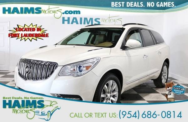 Photo 2015 Buick Enclave Premium with Experience Buick Package - $15588 (_Buick_ _Enclave_ _SUV_)