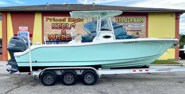 Photo 2017 NauticStar Legacy 2602 CC w Twin Yamaha 150hp Outboards - $84,450 (Priced Right in Punta Gorda)