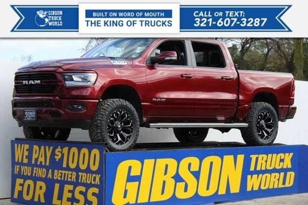 Photo 2019 Ram All-New 1500 Big HornLone Star - $44,995 (_Ram_ _All-New 1500_ _Truck_)