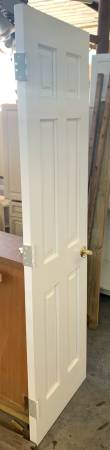 Photo 24quot Wide White 6 Panel Solid Core Door Removed From Interior - Used - $49 (Bonita Springs)