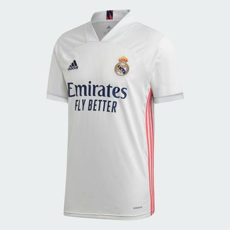 Photo Adidas Men39s REAL MADRID 2021 HOME Soccer Jersey White Size (M) - $50 (Naples)