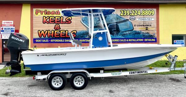 Photo Brand New 2021 AquaSport 224 Bay - Suzuki 200hp SS Outboard - $52,850 (Priced Right in Punta Gorda)