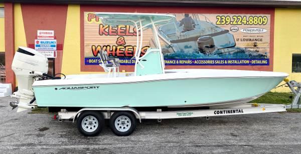 Photo Brand New 2021 AquaSport 230 Pro Bay w Suzuki 250hp Outboard - $59,650 (Priced Right in Punta Gorda)