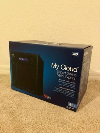 Photo Brand New WD 8TB My Cloud Expert Series EX4100 For Sale - $600 (Bonita Springs)