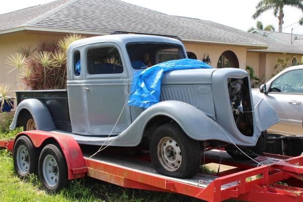 Photo CASH 1936 FORD (BIG BOY) PU - $8,000 (N. Ft. Myers)