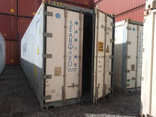 Photo CONTAINERS ALREADY INSULATED BOXES FOR STORAGE, OFFICES, LIVING SPACE (Fort Myers, Fl)
