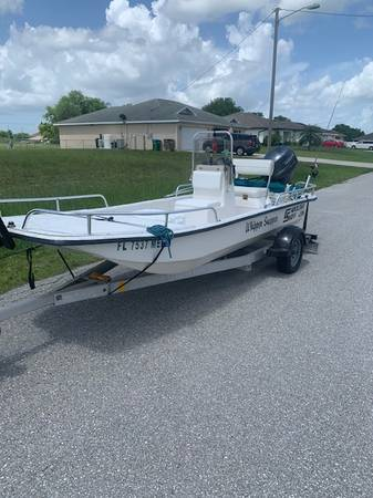 Photo Carolina Skiff J16 (Beautiful Condition) - $10500 (Cape Coral)