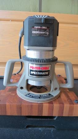 Photo Classic Porter Cable 5-Speed Router - $295 (CAPE CORAL)