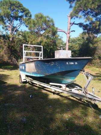 Photo Crab Boat , Air Boat , 2 motors