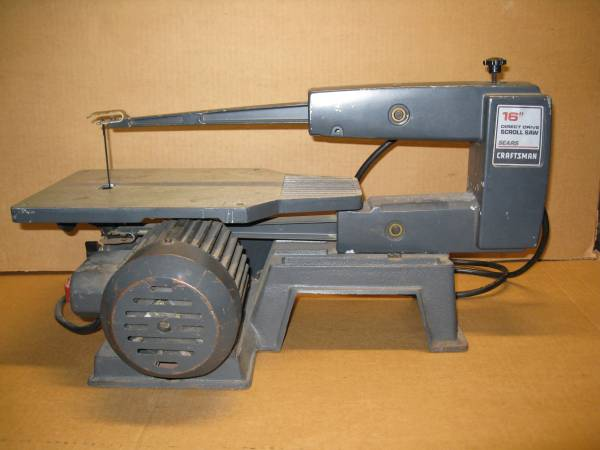 Photo Craftsman 16in Scroll Saw - $40 (FM Shores)