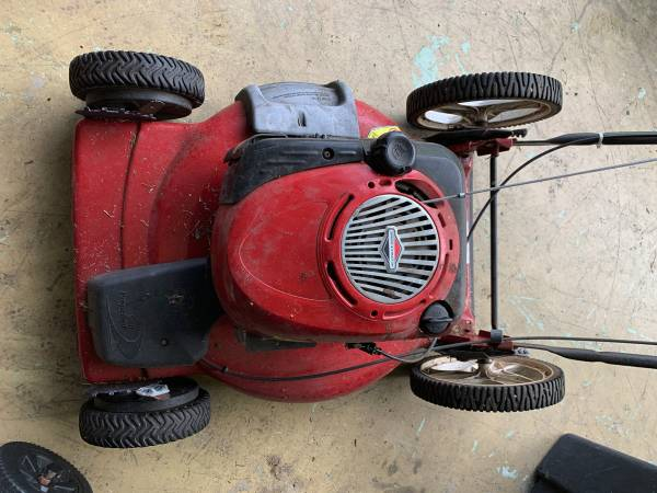 Photo Craftsman Self-Propelled Lawn Mower - $50