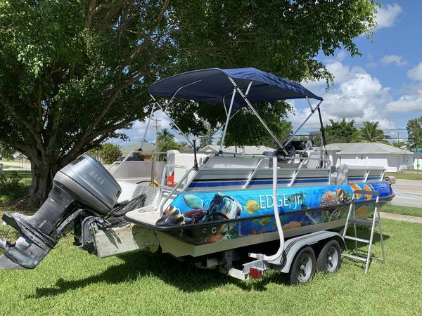 Photo Deck boat for sale - $3,500