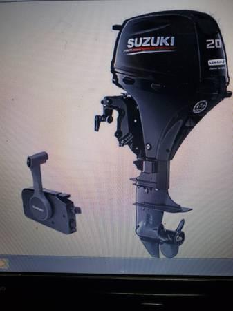 Photo I. Wanted. Honda Suzuki Yamaha 25-50 hp outboard motor - $1 (ARCADIA)