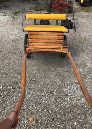 Photo John deer mini pony cart - $400 (Fort Myers)
