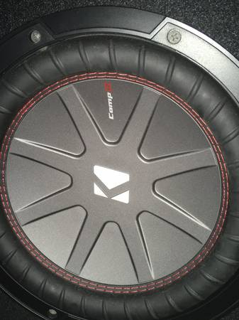 Photo Kicker Comp R 10 Subwoofer and Amp - $300 (Cape Coral)