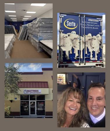 Photo King, King Kings OVERSTOCK Mattress CLEARANCE EVENT-CAN DELIVER TODY - $1 (Fort Myers, Bonita Springs, Cape, Gateway, Estero)