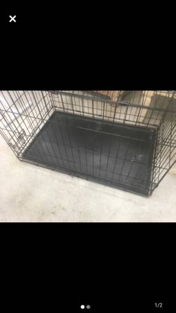 Photo Large dog crate - $50 (Fort Myers)