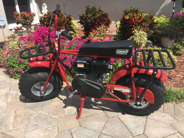Photo Mini Bike Coleman - $675 (NAPLES)