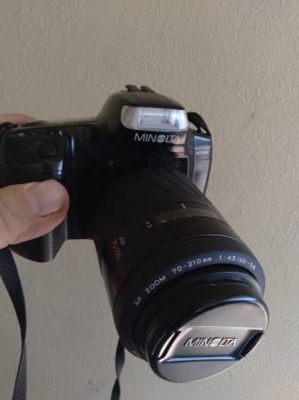 Photo Minolta Maxxum 300si 35mm - $250 (Fort Myers)
