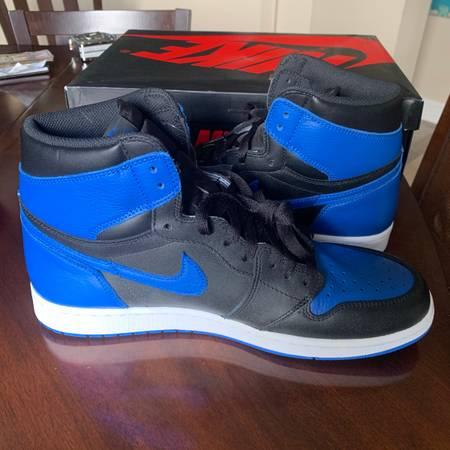 Photo New Jordan 1 Royal Blue (2017) - $450 (Fort Myers)