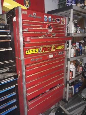 Photo Older Snap on Tool box 6 ft tall - $1000 (Nfm)