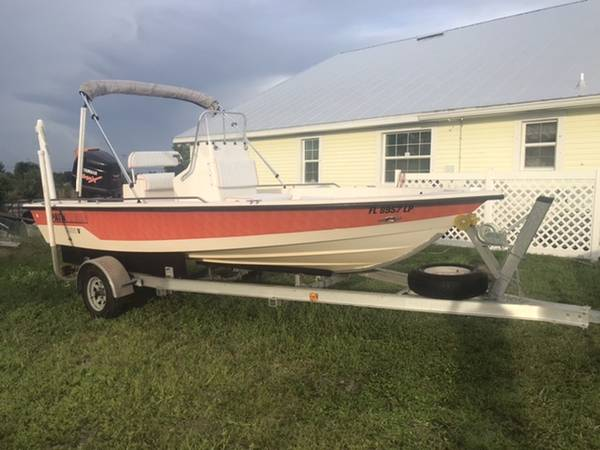 Photo Pathfinder 1900 Bay Boat Flats Boat Center Console - $19,000 (Cape Coral)