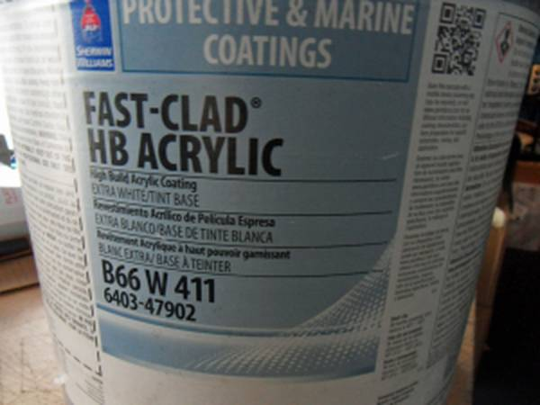 Photo Sealed Sherwin Williams Fast-Clad HB Acrylic 5 gallons - $65 (Port Charlotte)