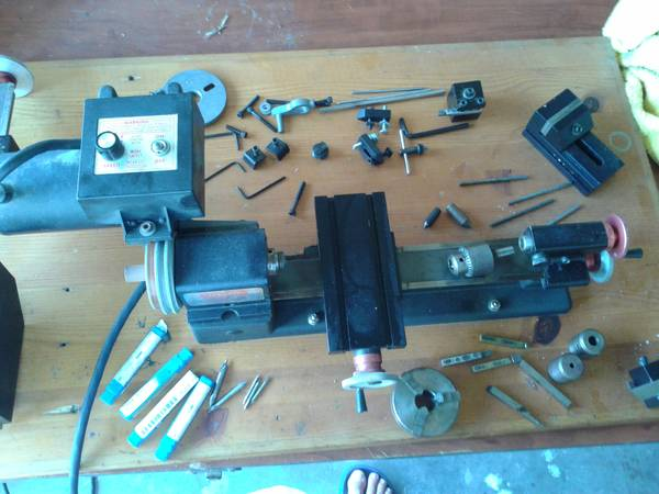 Photo Sherline Lathe and milling column - $1000 (Cape Coral)