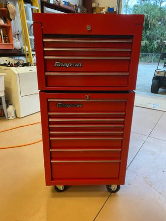 Photo Snap on , Tool box , Brand new , Top and Bottom , Snap on tools - $3,000 (Naples fl)