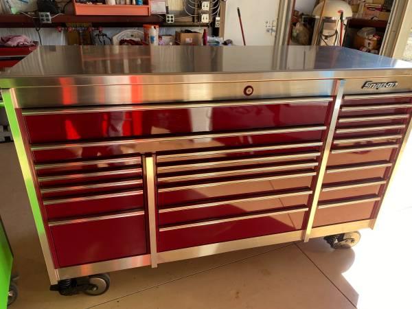 Photo Snap on , Tool box , KRL1023PMSD , cranberry, excellent condi - $4,950 (Naples fl)