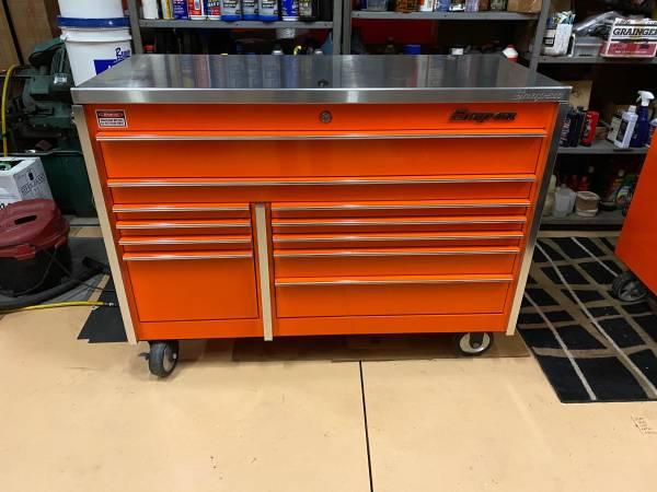 Photo Snap on , Tool box , KRL722BPJK1 , like new , snap on tools,orange - $3,500 (Naples)