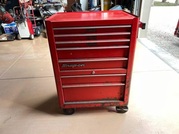 Photo Snap on , tool box , KRA380, bottom roll cabinet - $350 (Naples)