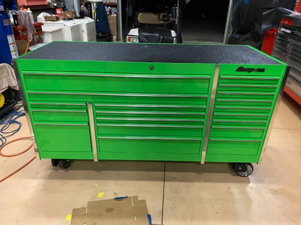 Photo Snap on tool box , KRL7023APJJ, excellent condition, Extreme Green - $4,950 (Naples)
