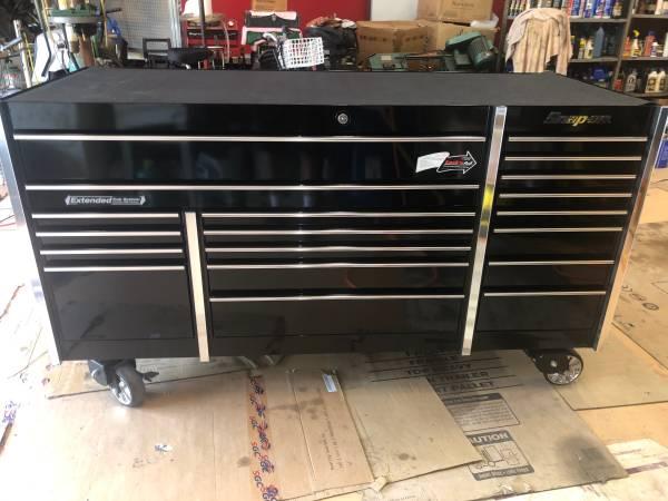 Photo Snap on tool box , snap on tools , KRL-7023APC Brand new , never used - $4950 (Naples Fl)