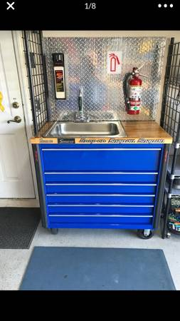 Photo Snap on tools sink tool cart toolbox - $800 (Cape Coral)