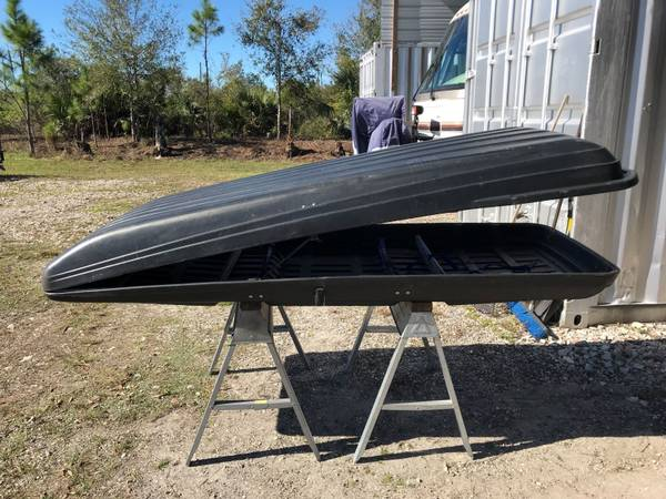 Photo Thule Rooftop Cargo Carrier - $300 (Fort Myers)