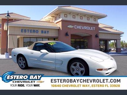 Photo Used 1998 Chevrolet Corvette Convertible for sale