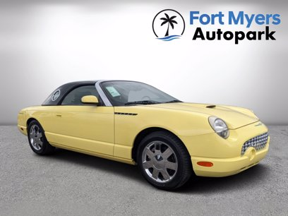 Photo Used 2002 Ford Thunderbird  for sale