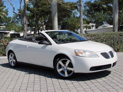 Photo Used 2007 Pontiac G6 GT Convertible for sale